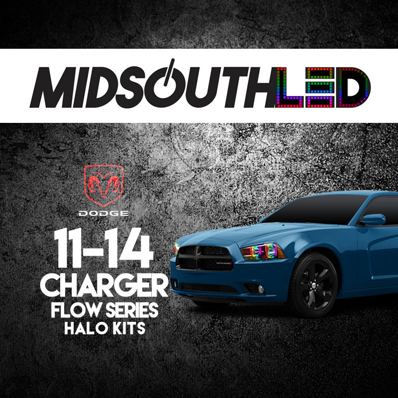 2011-2014 Dodge Charger Flow Series Halo Kit