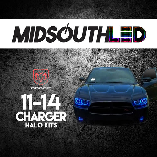 2011-2014 Dodge Charger COLORWERKZ Halo Kit