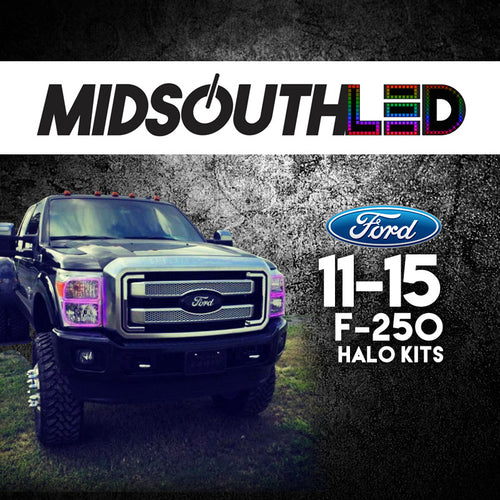 2011-2015 Ford F-250 COLORWERKZ Halo Kit
