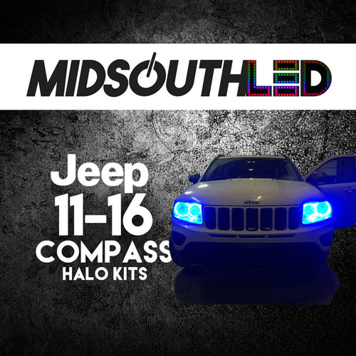 2011-2016 Jeep Compass COLORWERKZ Halo Kit