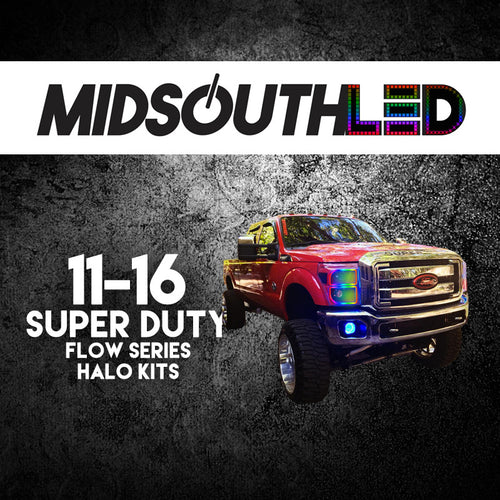 2011-2016 Ford Super Duty Flow Series (Full Kit) Halo Kit