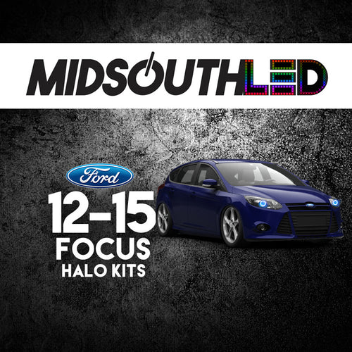 2012-2015 Ford Focus COLORWERKZ Halo Kit