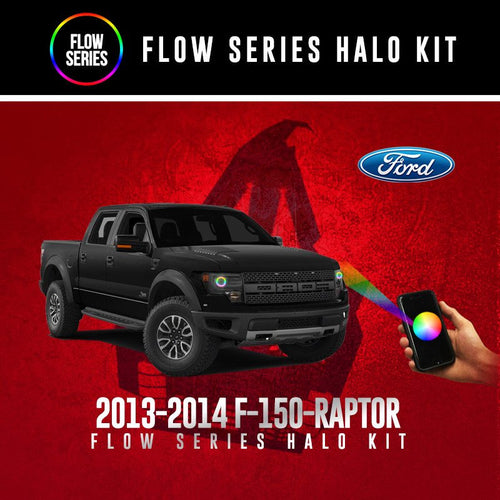 2013-2014 F-150-Raptor Flow Series Halo Kit