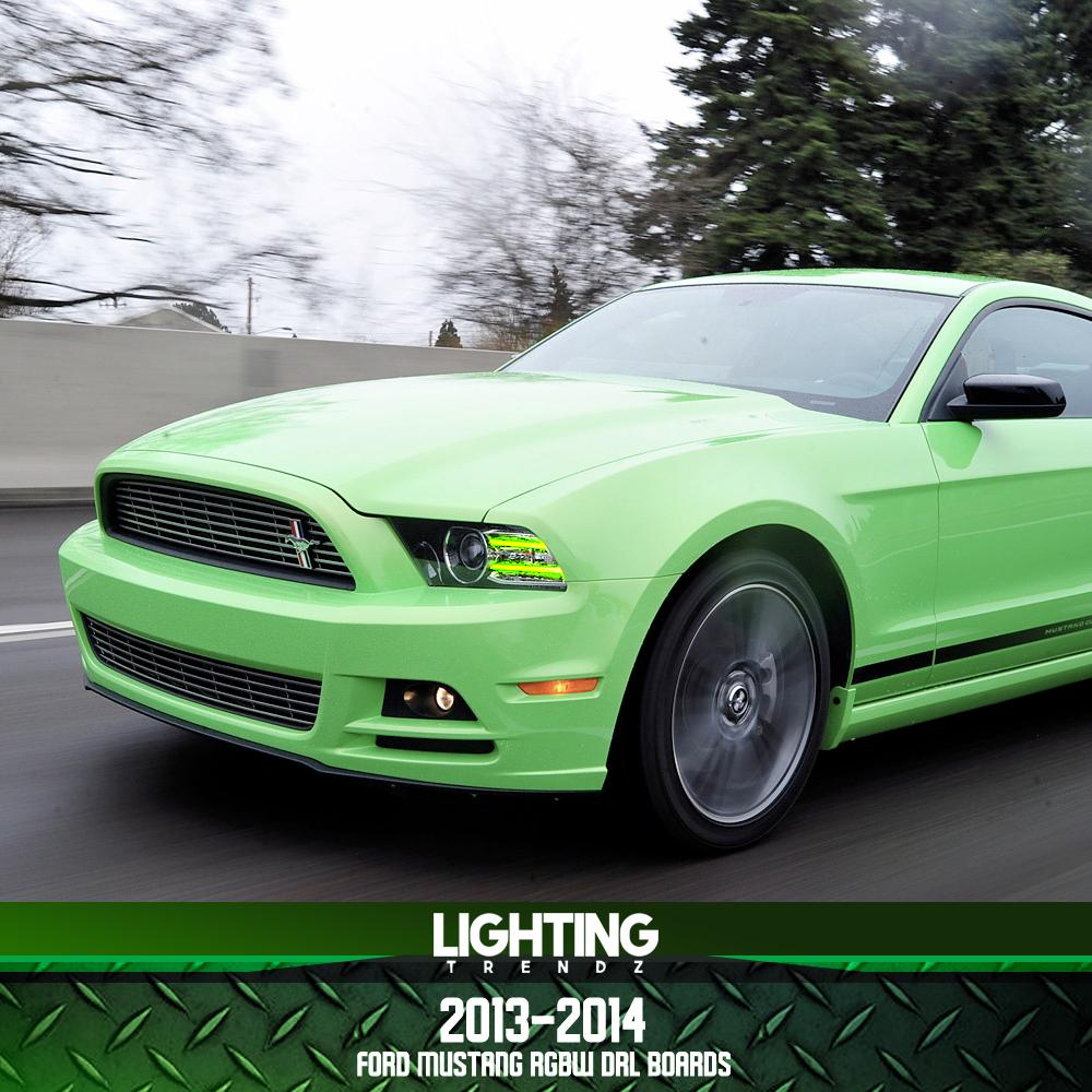 2013-2014 Ford Mustang DRL Boards