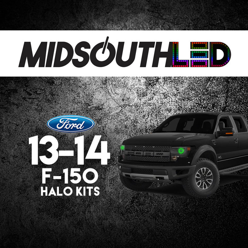 2013-2014 Ford F-150 COLORWERKZ Halo Kit