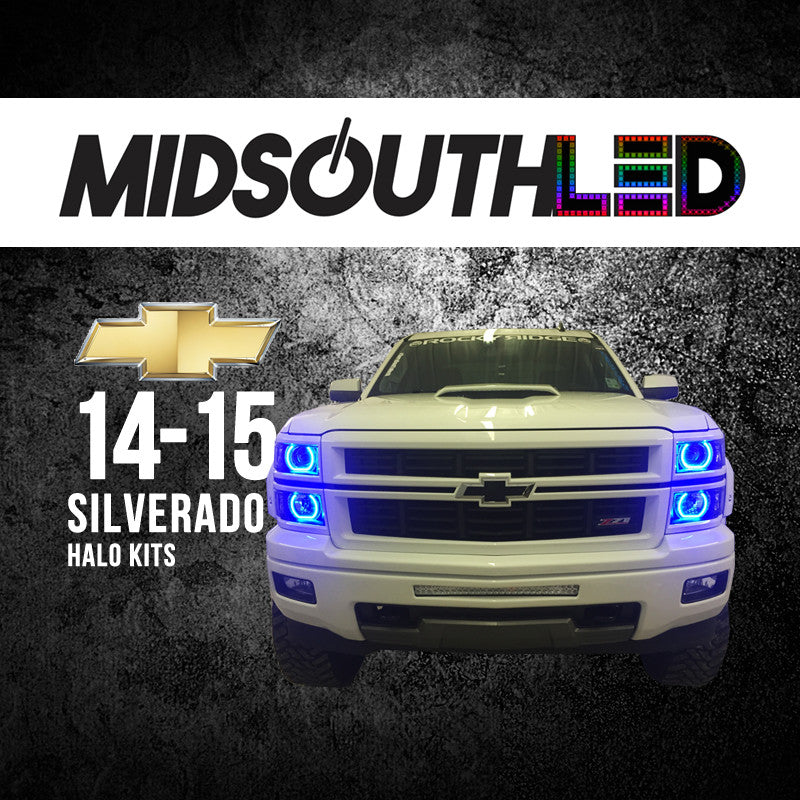 14-15 Silverado (Full Kit) COLORWERKZ Halo Kit