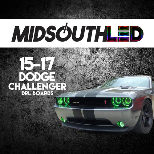 2015-2017 Dodge Challenger RGBW DRL Boards