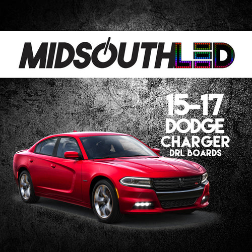 2015-2017 Dodge Charger RGBW DRL Boards