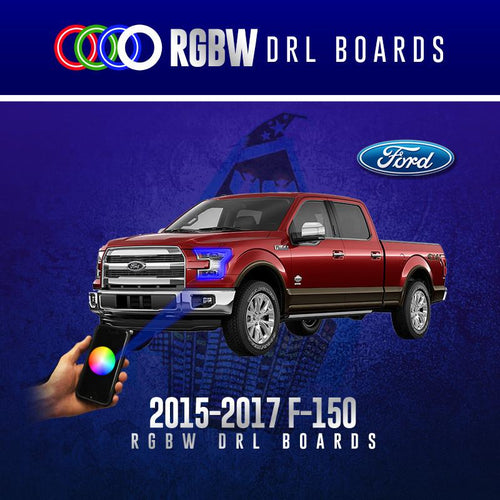 2015-2017 Ford F-150 RGBW DRL Boards