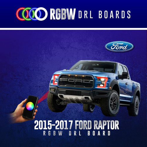 2015-2017 Ford Raptor RGBW DRL Boards