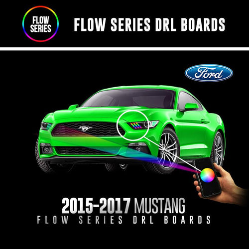 2015-2017 Ford Mustang Flow Series DRL Boards