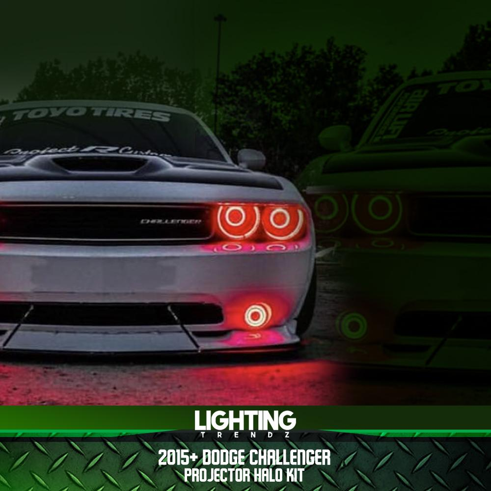 2015+ Dodge Challenger Projector Halo Kit