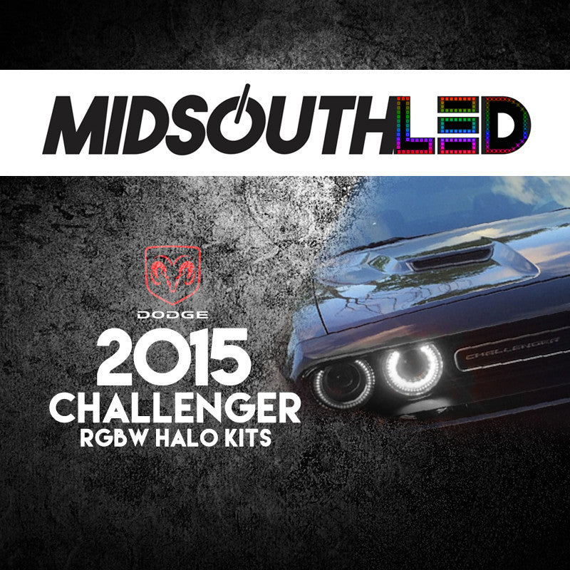 2015 Dodge Challenger RGBW Halo Kit
