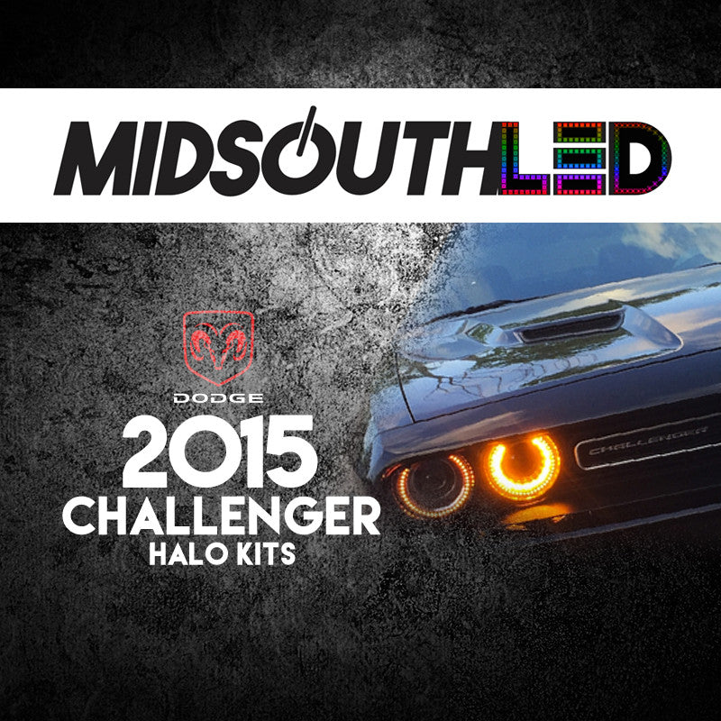 2015 Dodge Challenger COLORWERKZ Halo Kit