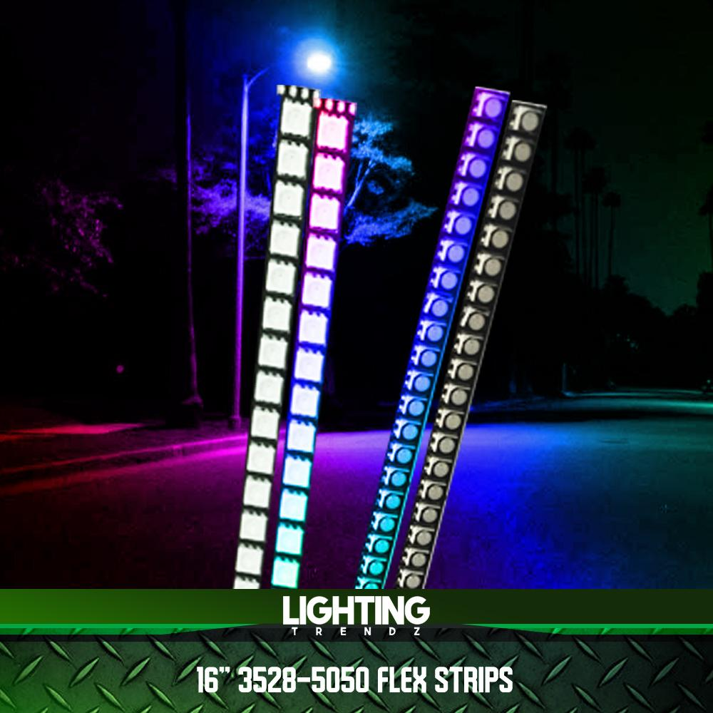 5050 RGB Semi Flex Strips