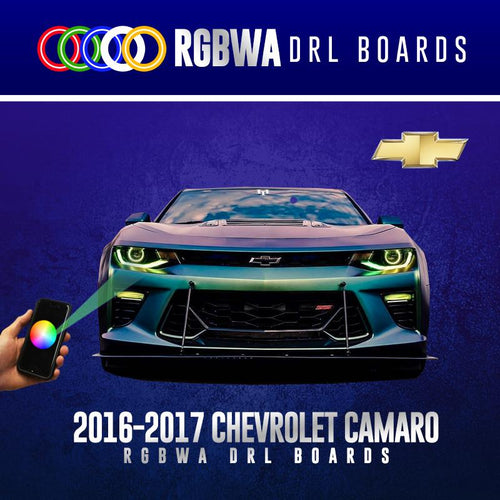2016-2017 Chevrolet Camaro RGBWA DRL Boards