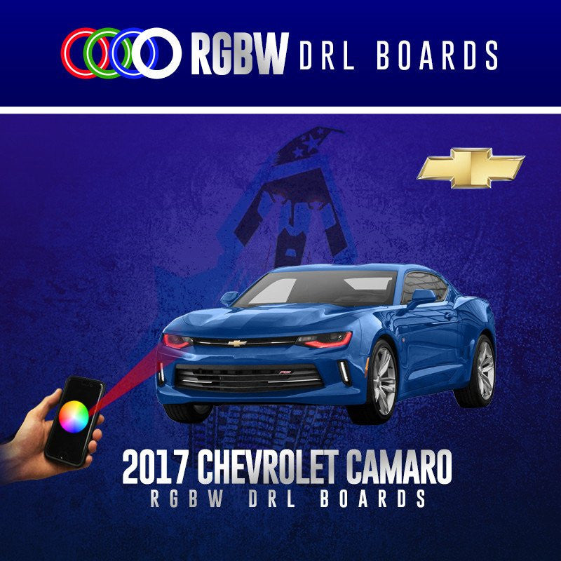 2017 Chevrolet Camaro RGBW DRL Boards