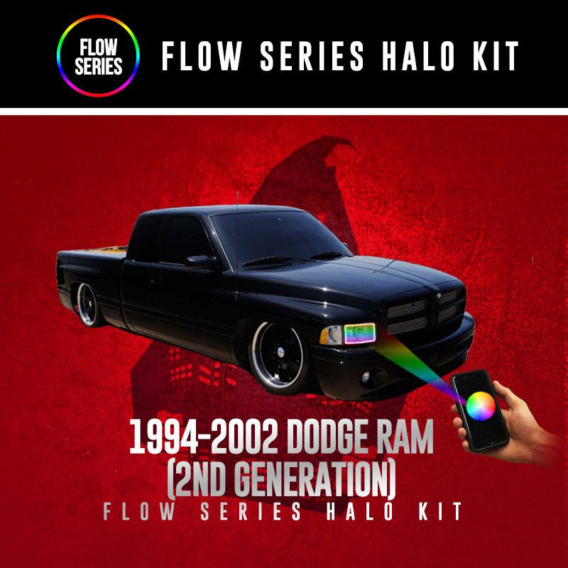 1994-2002 Dodge Ram (2nd Generation) Flow Series Halo Kit