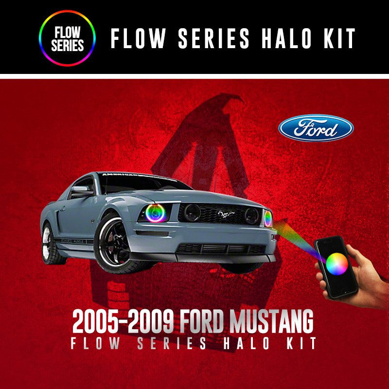 2005-2009 Ford Mustang Flow Series Halo Kit