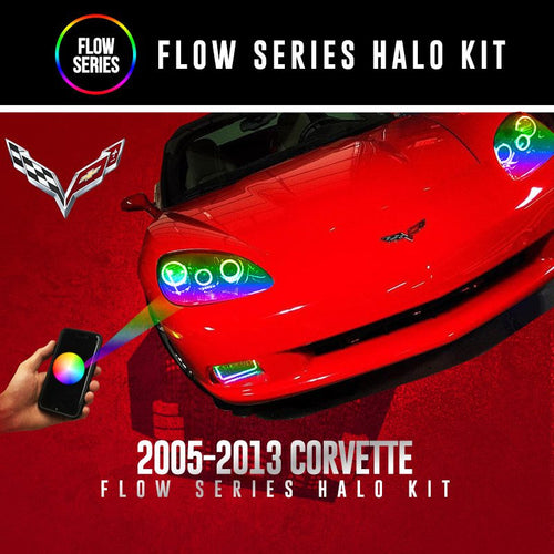 2005-2013 Chevrolet Corvette Flow Series Halo Kit