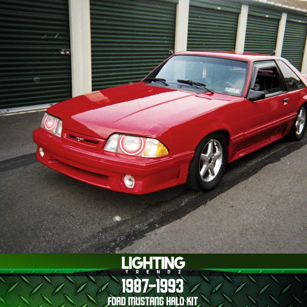 1987-1993 Ford Mustang Halo Kit