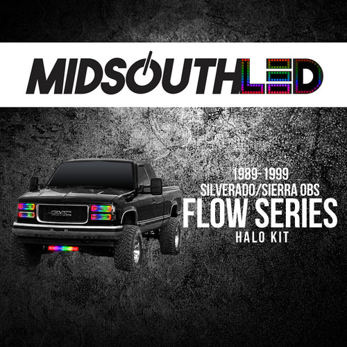 1989-1999 Silverado/Sierra Flow Series (Full Kit) Flow Series Halo Kit