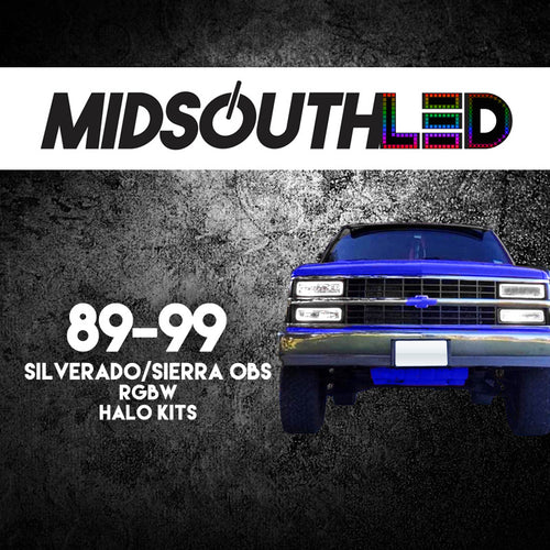 89-99 Silverado RGBW COLORWERKZ Halo Kit