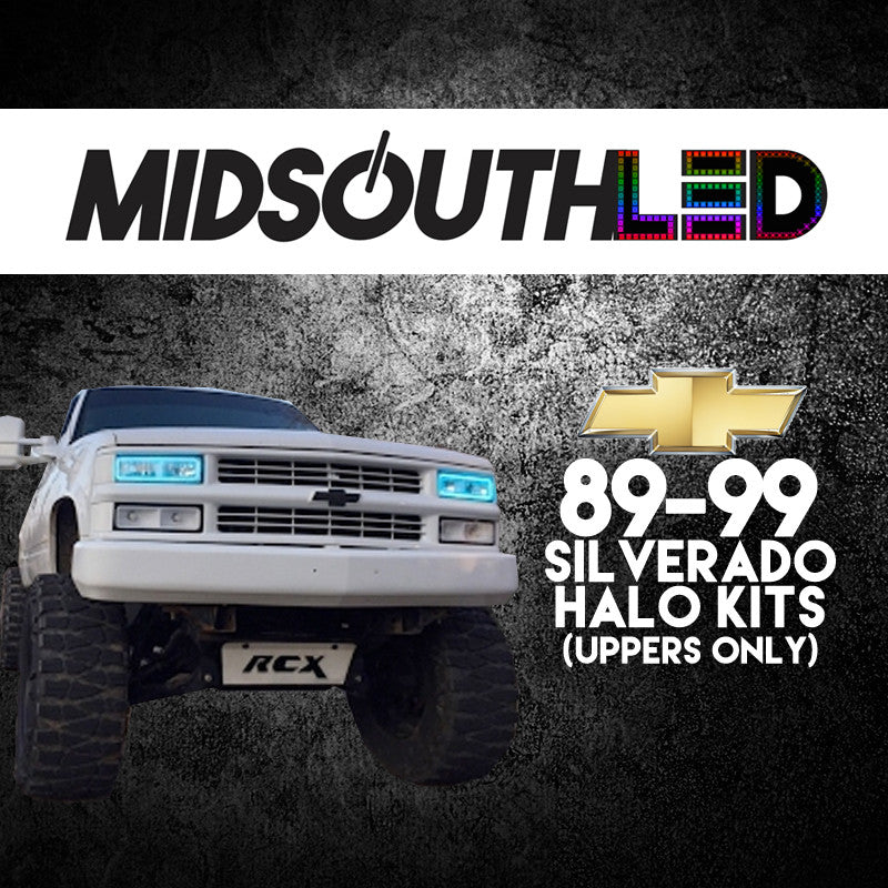 89-99 Silverado (Uppers Only) COLORWERKZ Halo Kit