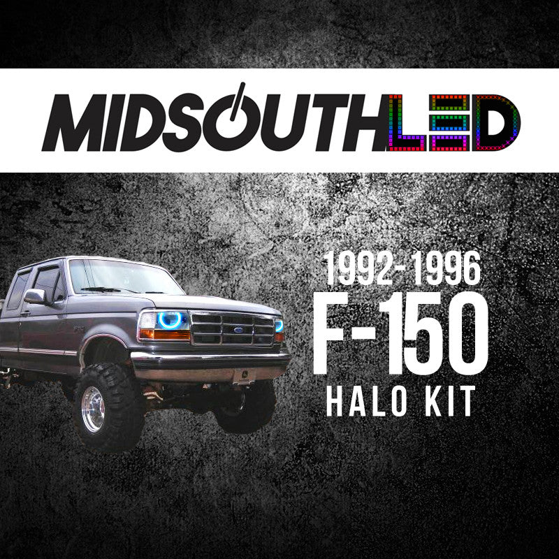 1992-1996 Ford F-150 COLORWERKZ Halo Kit