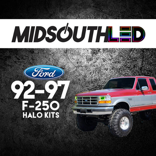 1992-1997 Ford F-250 COLORWERKZ Halo Kit