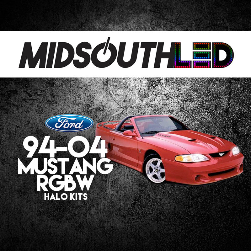 1994-2004 Ford Mustang RGBW Halo Kit