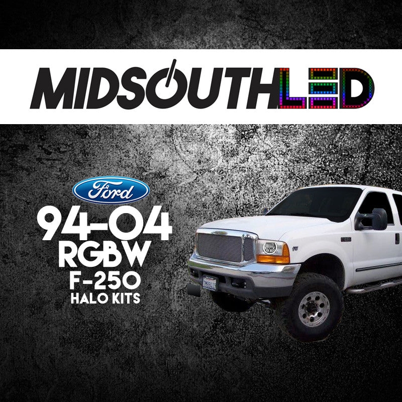 1994-2004 Ford F-250 RGBW Halo Kit