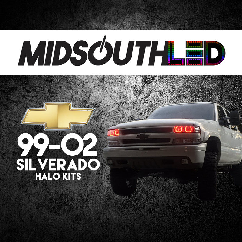 99-02 Silverado COLORWERKZ Halo Kit