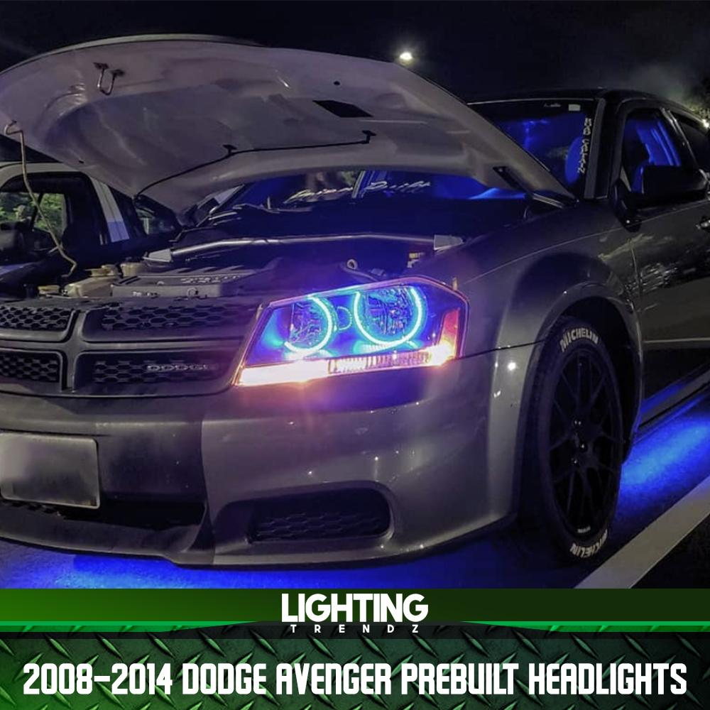 2008-2014 Dodge Avenger Pre-Built Headlights