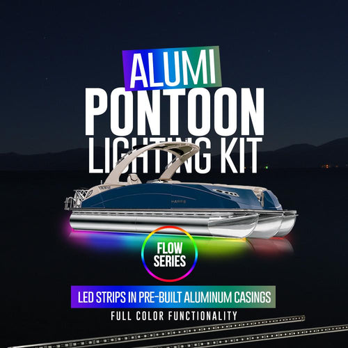 Flow Series Alumi Pontoon Lighting Kit