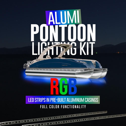 RGB Alumi Pontoon Lighting Kit