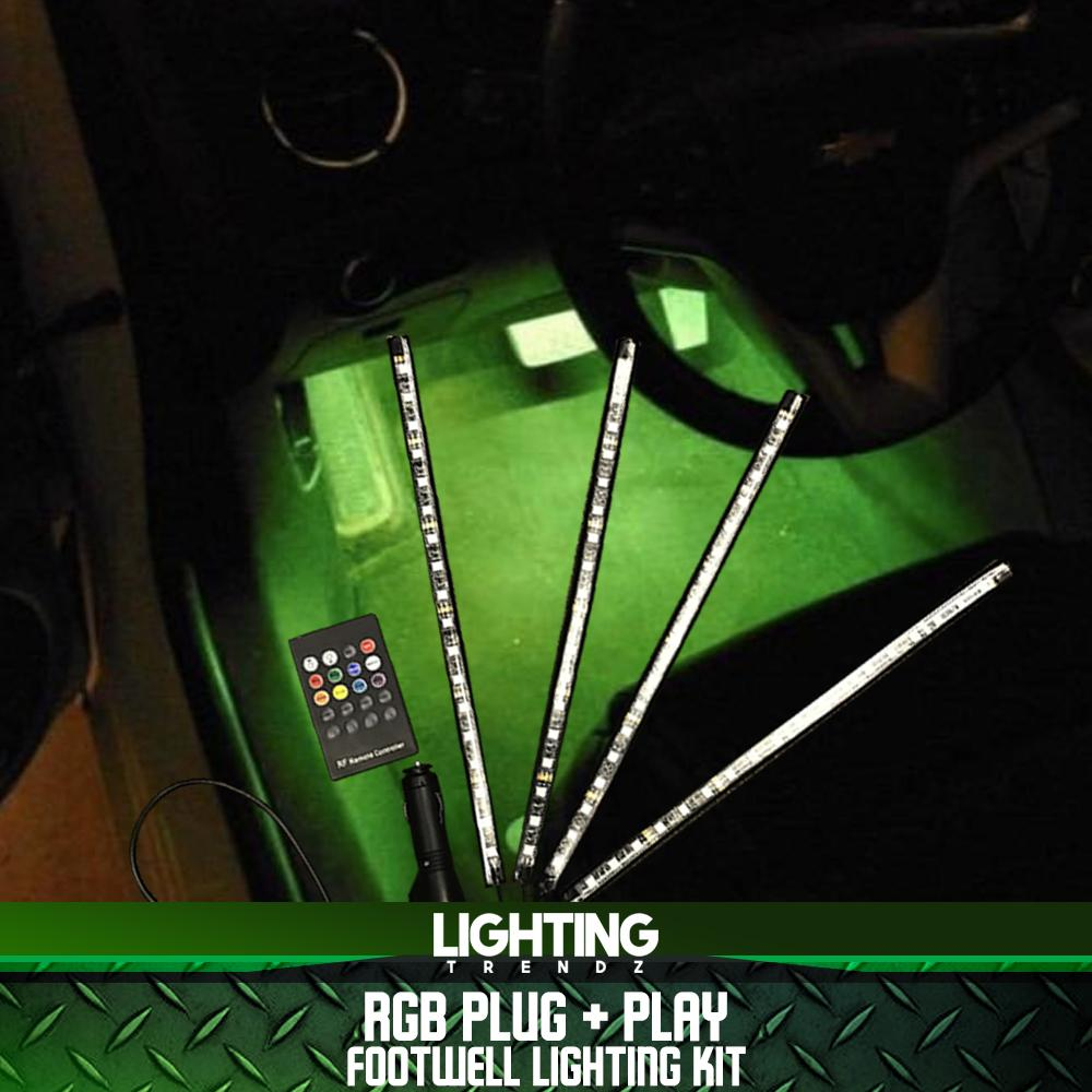 RGB Plug & Play Footwell Lighting Kit