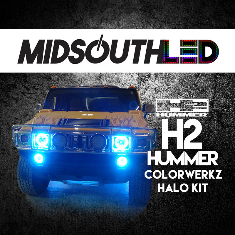 H2 Hummer COLORWERKZ Halo Kit