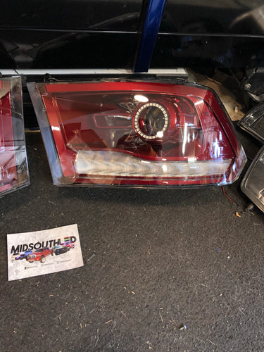 2009-2018 Ram Projector Headlights Colormatched