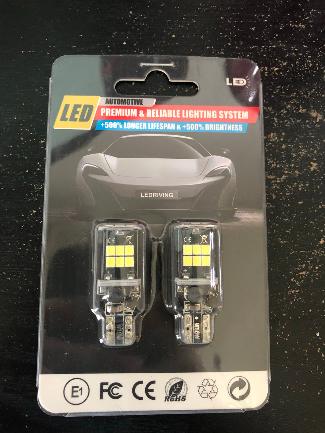 T15 / 921 Canbus LED Bulbs