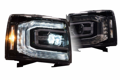 2007-2013 CHEVROLET SILVERADO: XB LED HEADLIGHTS