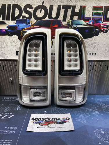 99-16 Superduty ColorMatched LED Tail Lights 2.0