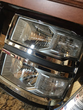 2014-2018 silverado 1500 headlights prebuilt (halogen model)