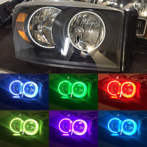 Prebuilt 2006-08 Dodge Ram headlights