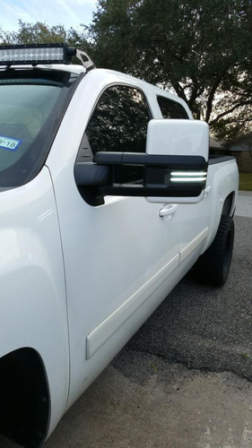 1988-2019 Gm Tow Mirrors with Colormatched Caps With Switchbacks