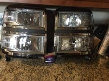 2014-2016 silverado headlights prebuilt (halogen model)