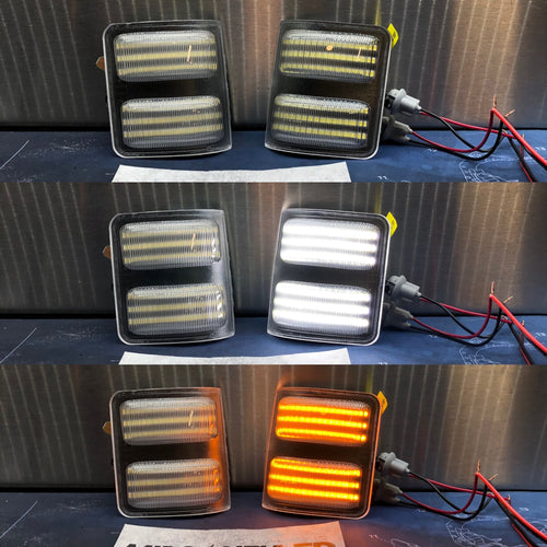2008-2016 Superduty Tow Mirror Sequential Switchback Marker Lights