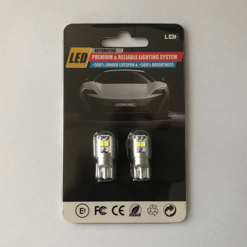 T10 / 194 Canbus Led Bulbs