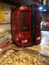 2014-2017 gmc sierra colormatched led tail lights L syle