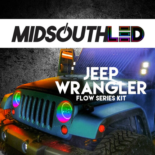 Jeep Wrangler Flow Series Halo Kit